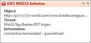 Win32/Spy.Banker.RST trojan